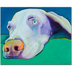 Pat Saunders-White 'Fritz' Gallery-wrapped Canvas Art