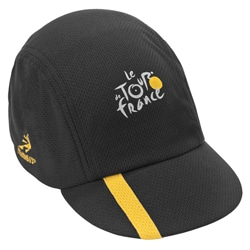 Tour de France Unisex 'SpinCycle' Black Cycling Cap