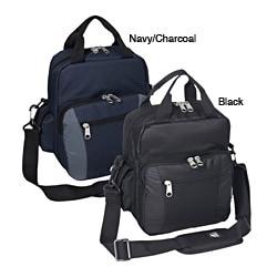 Everest 11-inch Polyester Zippered Shoulder-strap Deluxe Utility Bag