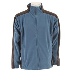 Stormtech Men's Polaris H2X Blue/ Grey Fleece Shell Jacket