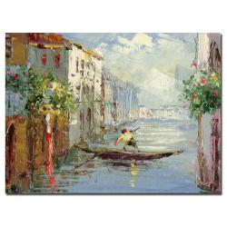 Rio 'Gondola' Gallery-wrapped Canvas Art