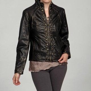 Big Chill Women's Stud Detail Fashion Jacket