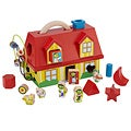 Small World Toys Multicolor Wood House-shaped Sorter Development Toy