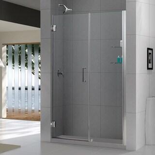 DreamLine Unidoor 57-61x72-inch Frameless Hinged Shower Door