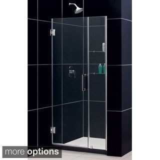 DreamLine Unidoor 39-43x72-inch Frameless Hinged Shower Door