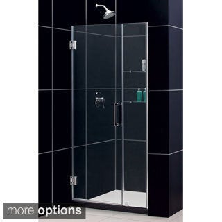DreamLine UNIDOOR Frameless Shower Door 39-43 W x 72 H