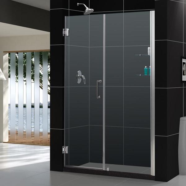 DreamLine Unidoor Frameless Shower Doors 58-59 Glass Shower Door