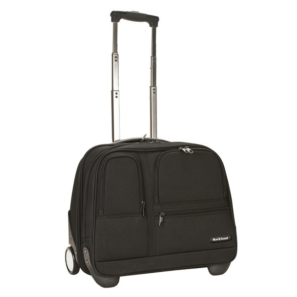 Rockland Mobile Office 16-inch Rolling Laptop Overnighter Case