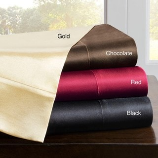 Premier Comfort Solid Satin 6-Piece Sheet Set-King