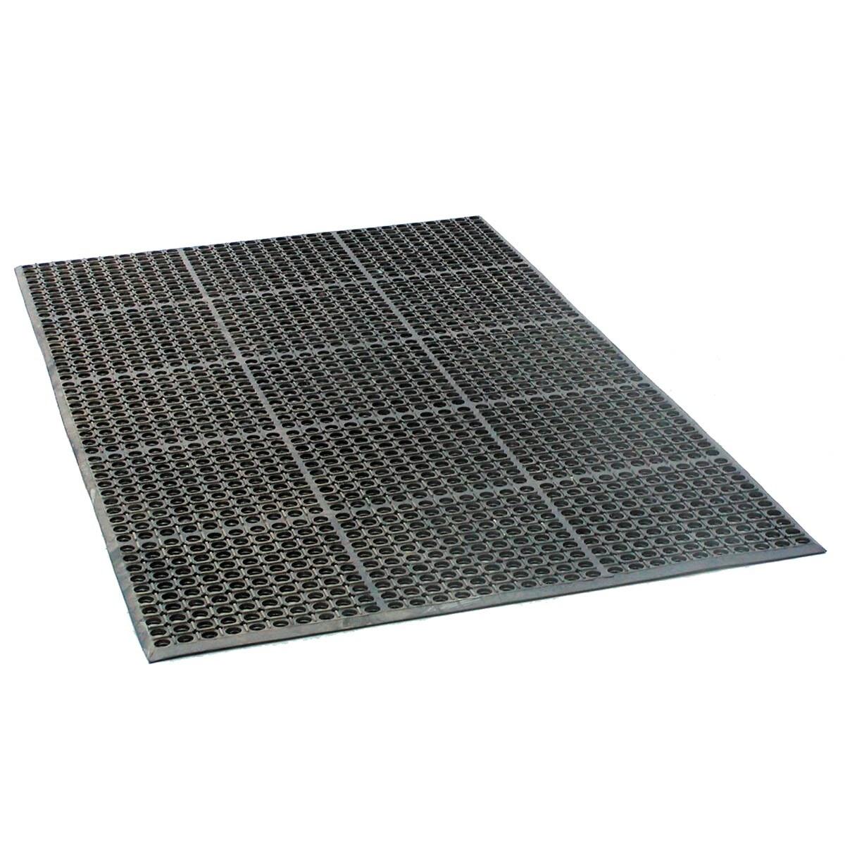 new 3 39 x5 39 rubber mat flooring runner rolls outdoor indoor. Black Bedroom Furniture Sets. Home Design Ideas