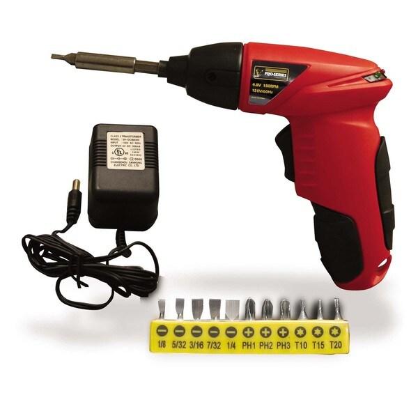 Buffalo Tools 4.8V Cordless Palm Drill