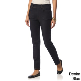 La Cera Women's Five-Pocket Denim Jegging