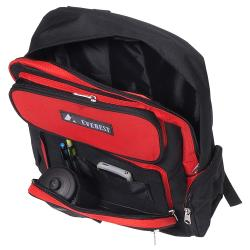 Everest 16.5-inch Backpack with Front Bottle Holder