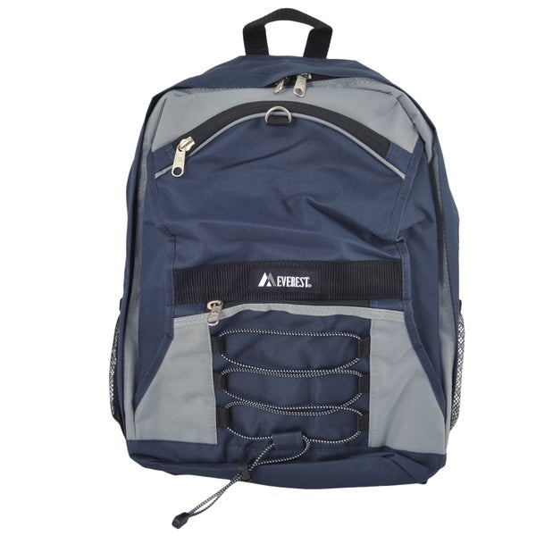 Everest 17-inch Two-tone Backpack with Mesh Pockets