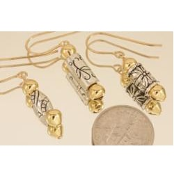'Cupolas of Gold' 14k Gold Fill Earrings (Pack of 6 Pairs)