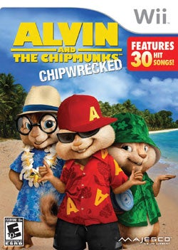 Wii - Alvin & Chipmunks: Chipwrecked