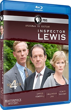Inspector Lewis Series 4 (Blu-ray Disc)