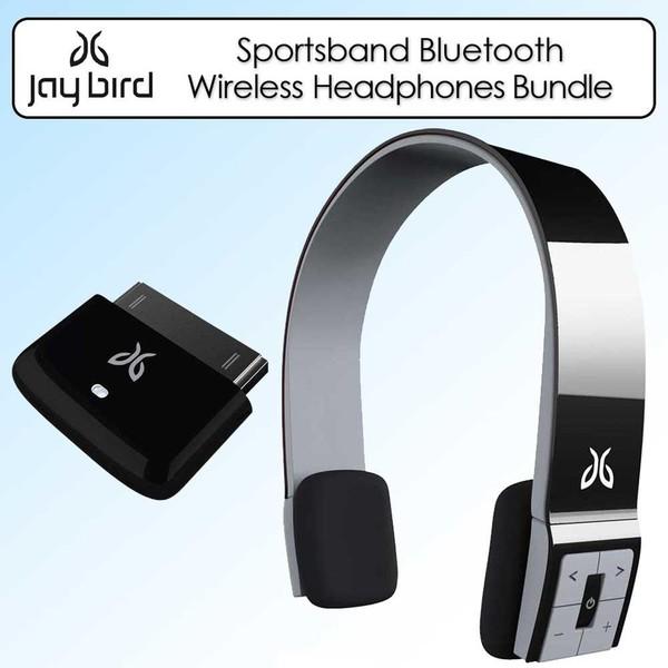 JayBird SB2MB Sportsband Midnight Black Bluetooth Headphones Kit