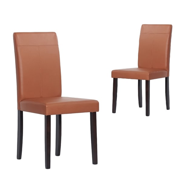 Warehouse of Tiffany Toffee Dining Room Chairs (Set of 4)