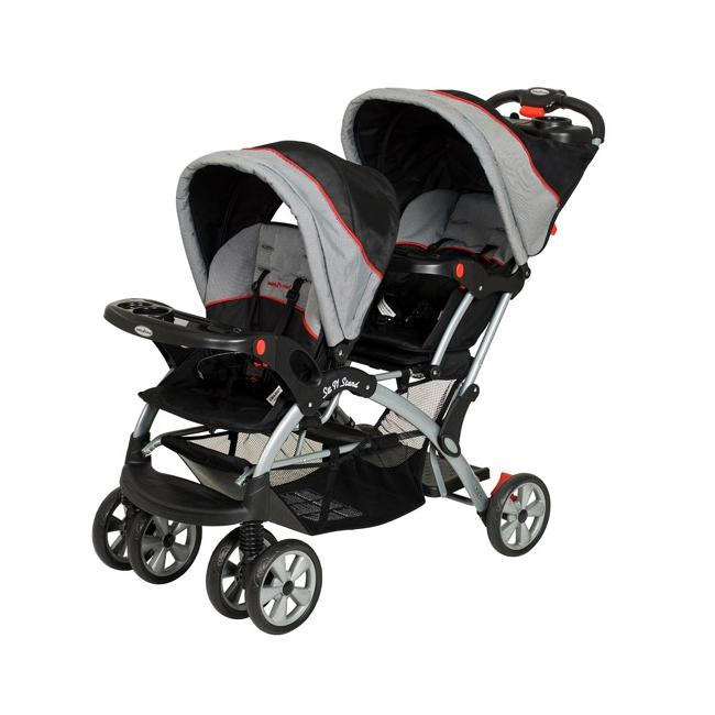 Baby Trend Sit N Stand Plus Double Stroller in Millennium