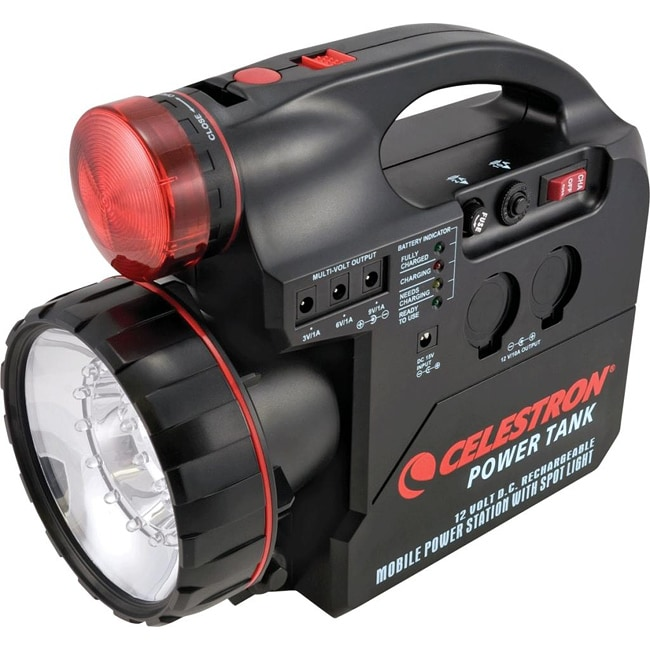 Celestron Power Tank 12-volt Seven-amp LED Spotlight Power Supply Unit