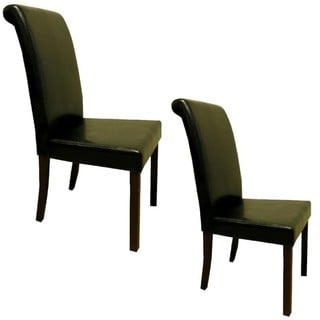 Warehouse of Tiffany Black Dining Chairs (Set of 4)