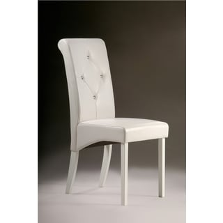 Warehouse of Tiffany White Dining Room Chairs (Set of 8)