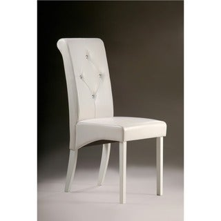Warehouse of Tiffany White Dining Room Chairs (Set of 2)