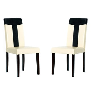 Warehouse of Tiffany Cream Dining Room Chairs (Set of 2)
