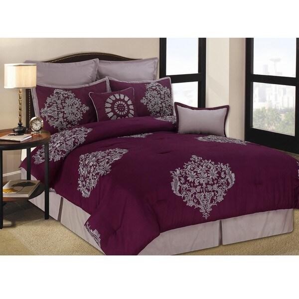Eastwick 8-piece King-size Comforter Set