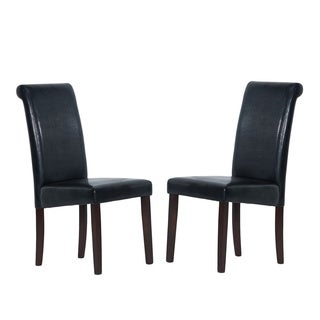 Warehouse of Tiffany Black Dining Chairs (Set of 2)