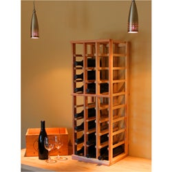 Redwood 27-bottle Wine Rack