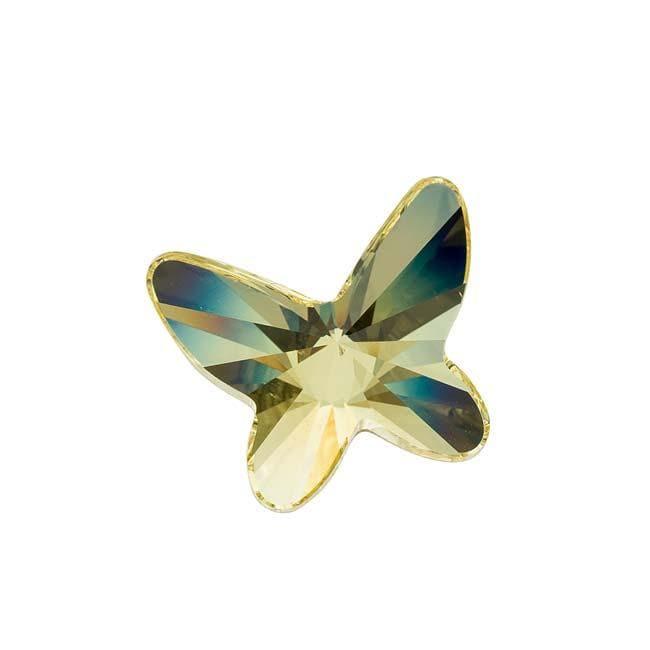 Beadaholique Jonquil 18mm Austrian Crystal Flatback Rhinestones (Pack of 1)