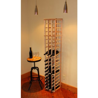 Redwood 6-foot 51-bottle Wine Rack