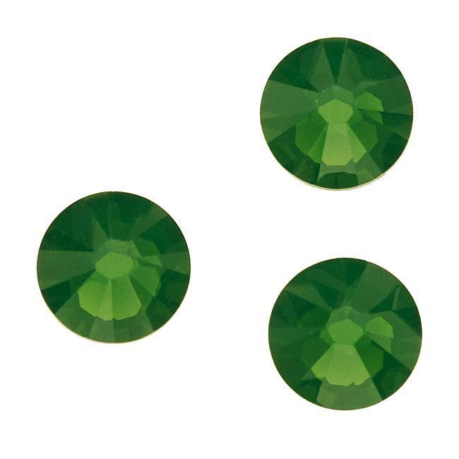 Beadaholique Palace Green Opal ss30 Crystal Flatback Rhinestones (Pack of 25)