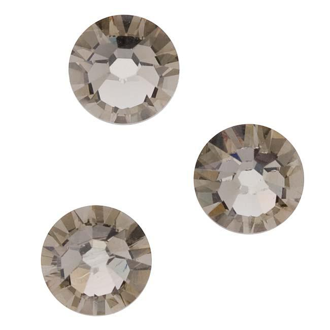 Beadaholique Greige ss30 Austrian Crystal Flatback Rhinestones (Pack of 25)