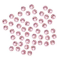 Beadaholique Light Rose ss16 Austrian Crystal Flatback Rhinestones (Pack of 50)