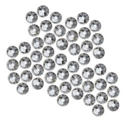 Beadaholique Black Diamond ss20 Crystal Flatback Rhinestones (Pack of 50)
