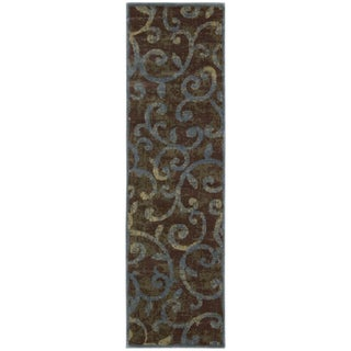 Nourison Expressions Multicolor Scroll Rug (2' x 5'9)