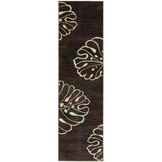 Nourison Expressions Multi Brown Rug (2' x 5'9)