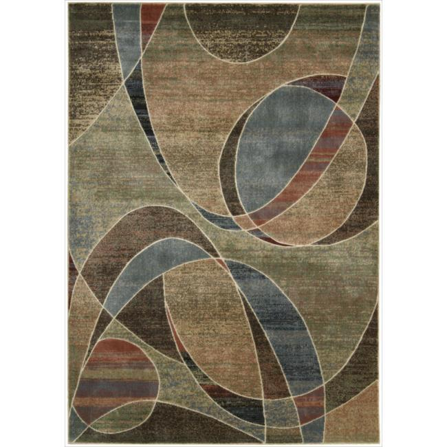 Nourison Expressions Multicolor Ribbons Rug (3'6 x 5'6) at Sears.com