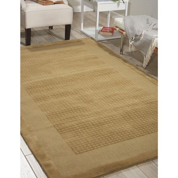 Nourison Westport Hand-tufted Sand Wool Rug (3'6 x 5'6)