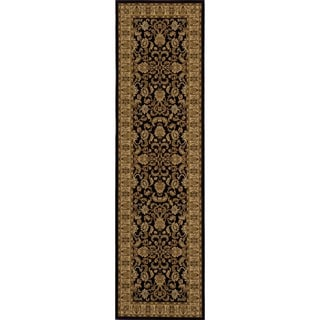 Traditional Black Runner (2'3 x 7'10)