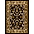Traditional Black Rug (10'10 x 7'10)