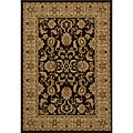 Westminster Agra Brown Power-Loomed Rug (9'10