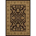 Westminster Traditional Brown Rug (7'10 x 10'10)