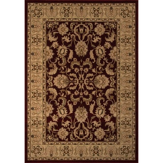 """Westminster Agra Red Power-Loomed Rug (5'3"""" x 7'7"""")"""