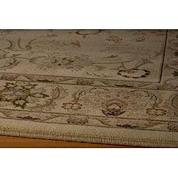 "Westminster Agra Ivory Power-Loomed Rug (9'10"" x 13'6"")"