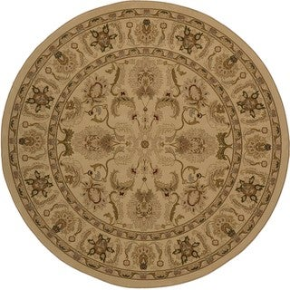 Westminster Agra Gold Rug (7'10 Round)