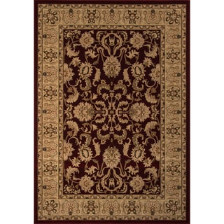 """Westminster Agra Red Power-Loomed Rug (7'10"""" x 10'10"""")"""